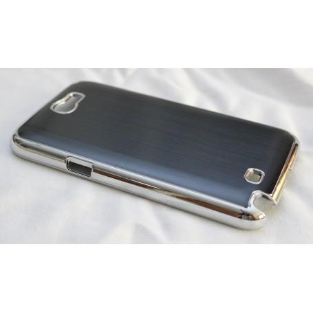 Galaxy Note 2 musta alumiini takakansi.