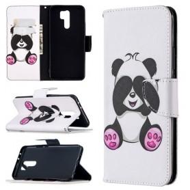 Xiaomi Redmi 9 valkoinen panda suojakotelo