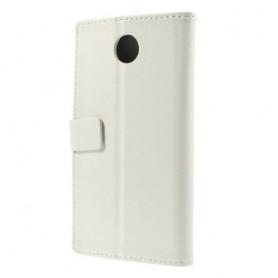 Motorola Google Nexus 6 valkoinen puhelinlompakko
