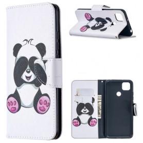 Xiaomi Redmi 9C valkoinen panda suojakotelo