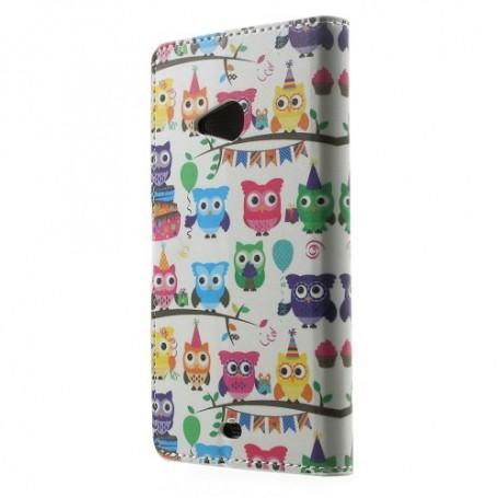 Lumia 535 pöllöt puhelinlompakko