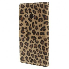 Lumia 535 leopardi puhelinlompakko