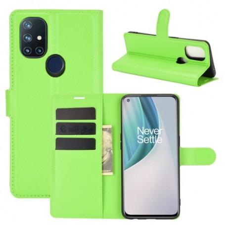 OnePlus Nord N10 5G vihreä suojakotelo