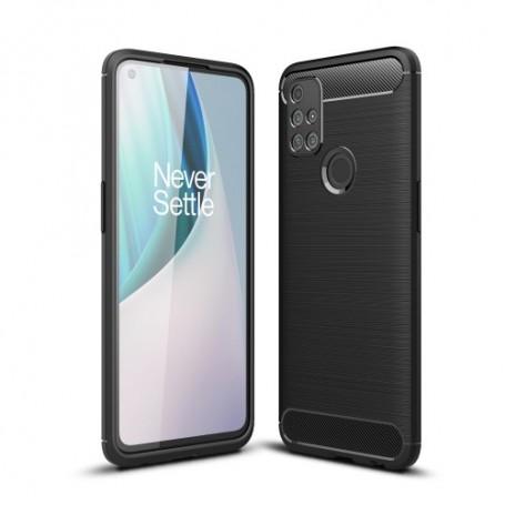 OnePlus Nord N10 5G musta suojakuori