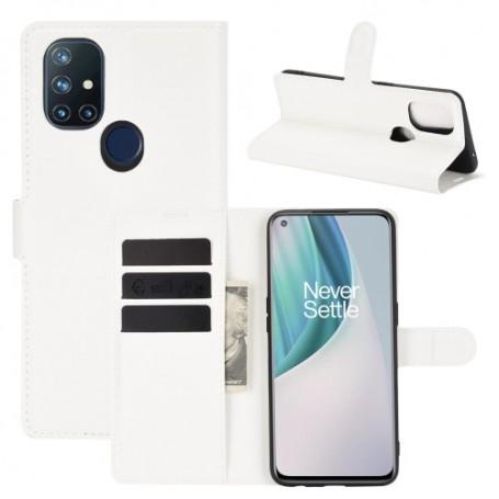 OnePlus Nord N10 5G valkoinen suojakotelo