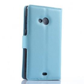 Lumia 535 vaaleansininen puhelinlompakko