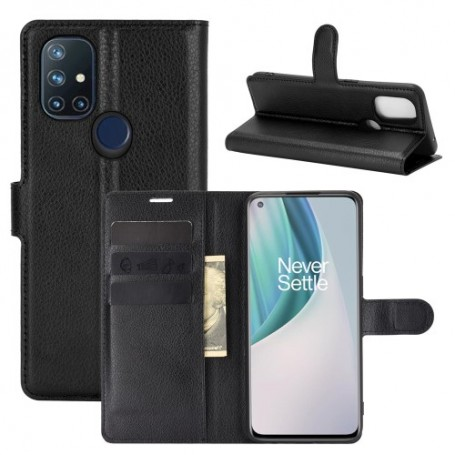 OnePlus Nord N10 5G musta suojakotelo