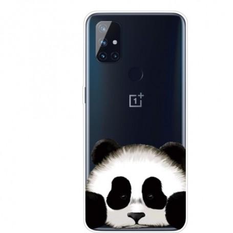 OnePlus Nord N10 5G läpinäkyvä panda suojakuori