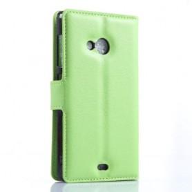Lumia 535 vihreä puhelinlompakko