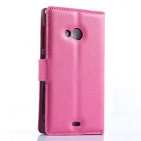 Lumia 535 pinkki puhelinlompakko