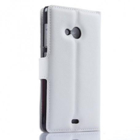 Lumia 535 valkoinen puhelinlompakko