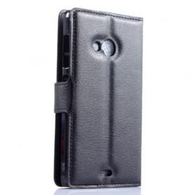 Lumia 535 musta puhelinlompakko