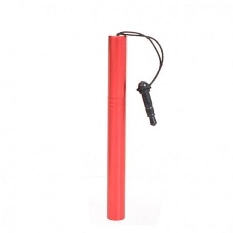 Punainen kosketusnäyttökynä 3.5mm plugilla