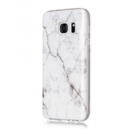 Samsung Galaxy S7 valkoinen marmori suojakuori
