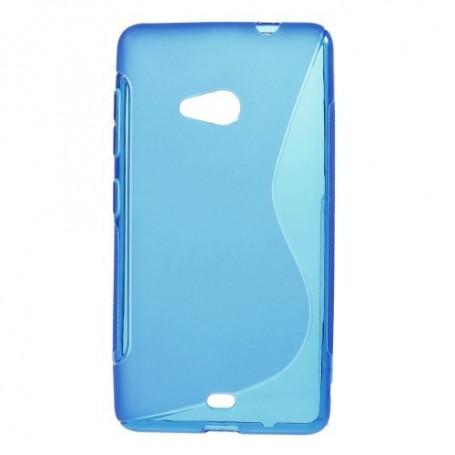 Lumia 535 sininen silikonikuori.