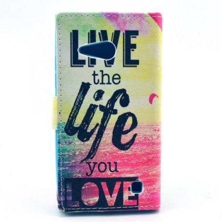Lumia 735 life puhelinlompakko