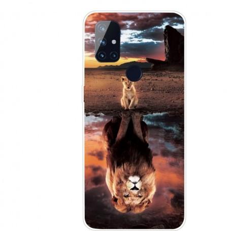 OnePlus Nord N10 5G leijona suojakuori