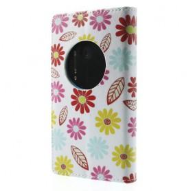 Lumia 1020 kukat puhelinlompakko