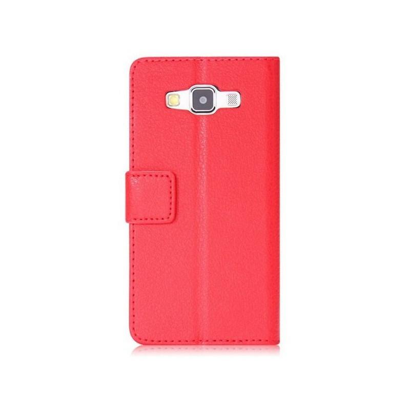 Galaxy A3 punainen puhelinlompakko