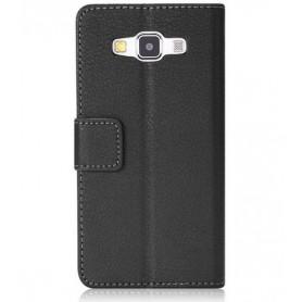 Galaxy A3 musta puhelinlompakko