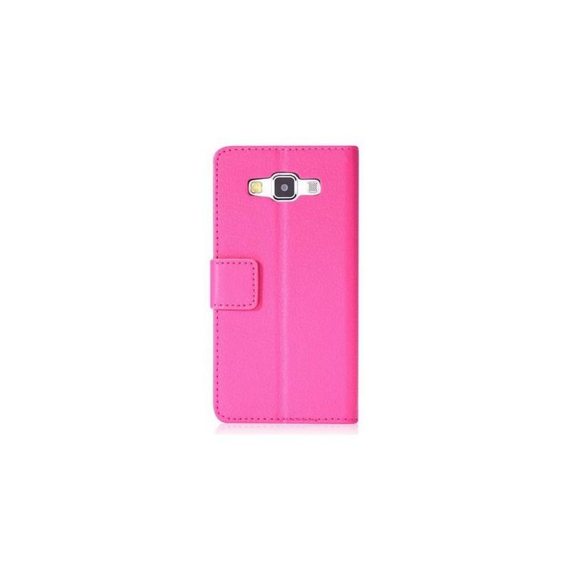 Galaxy A3 hot pink puhelinlompakko