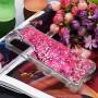 Samsung Galaxy S21 Plus glitter hile pinkki puu suojakuori
