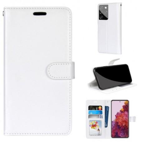 Samsung Galaxy S21 Ultra valkoinen suojakotelo