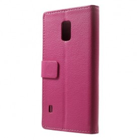 Galaxy S5 Active hot pink puhelinlompakko