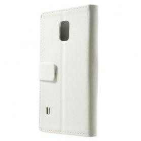 Galaxy S5 Active valkoinen puhelinlompakko