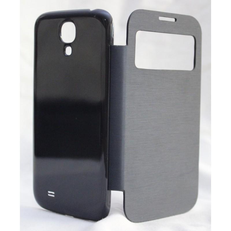 Galaxy S4 musta ohut kansikotelo.