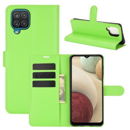Samsung Galaxy A12 vihreä suojakotelo
