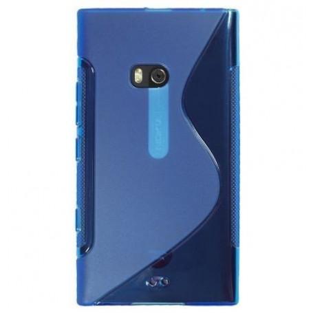 Lumia 900 tumman sininen silikonisuojus.