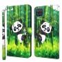 Samsung Galaxy A12 panda suojakotelo