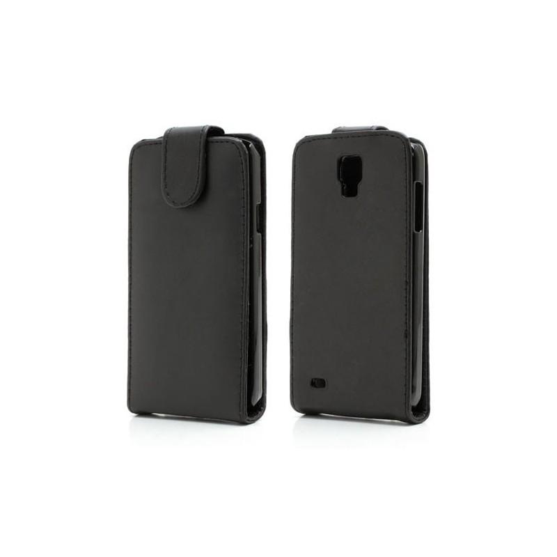 Galaxy S4 Active musta läppäkotelo.