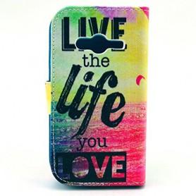 Galaxy Trend 2 live life puhelinlompakko