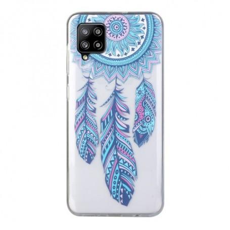 Samsung Galaxy A12 läpinäkyvä unisieppari suojakuori