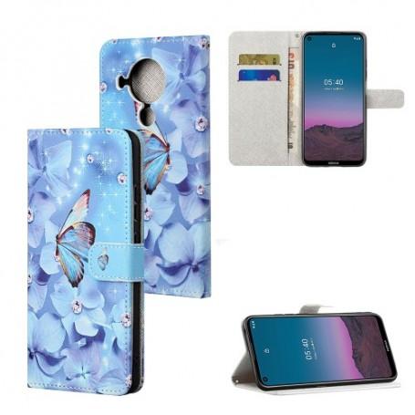 Nokia 5.4 perhoset suojakotelo