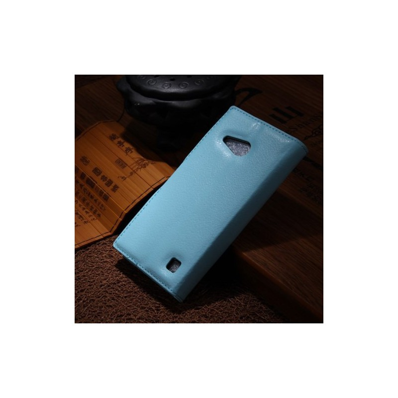 Lumia 735 vaaleansininen puhelinlompakko