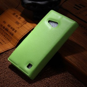 Lumia 735 vihreä puhelinlompakko