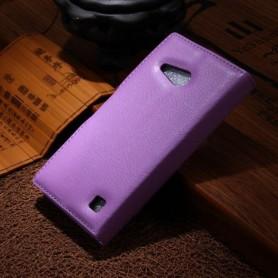 Lumia 735 violetti puhelinlompakko