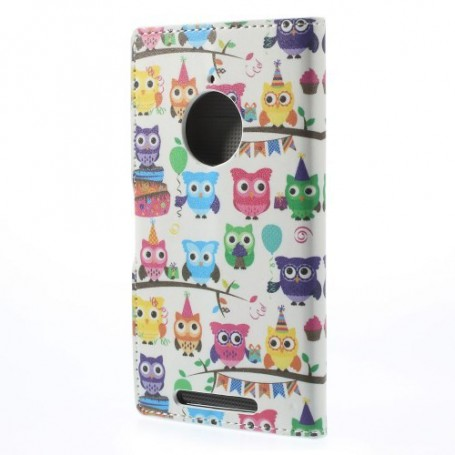 Lumia 830 pienet pöllöt puhelinlompakko