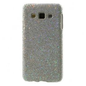 Galaxy A3 hopea glitter suojakuori.