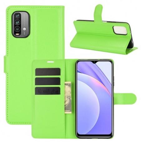 Xiaomi Redmi 9T vihreä suojakotelo