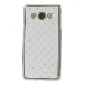 Galaxy A3 valkoiset luksus kuoret