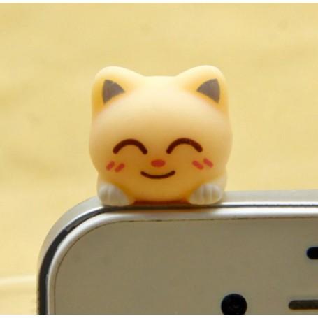 Koriste kännykkään - keltainen kissa.