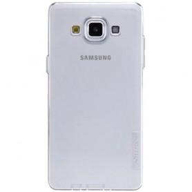 Galaxy A5 ultra ohut läpinäkyvä silikonisuojus.
