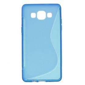 Galaxy A5 sininen silikonisuojus.