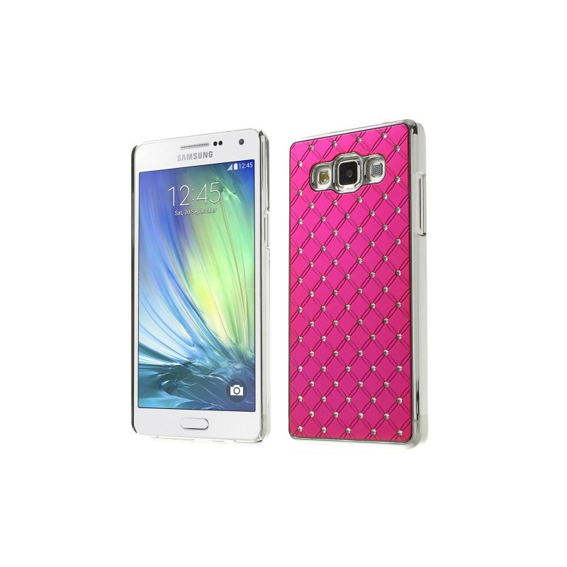 Galaxy A5 hot pink luksus kuoret