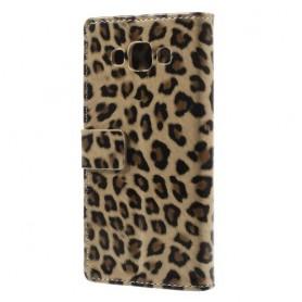 Galaxy A5 leopardi puhelinlompakko