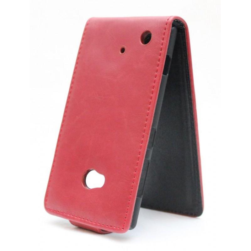 Lumia 720 punainen läppäkotelo.